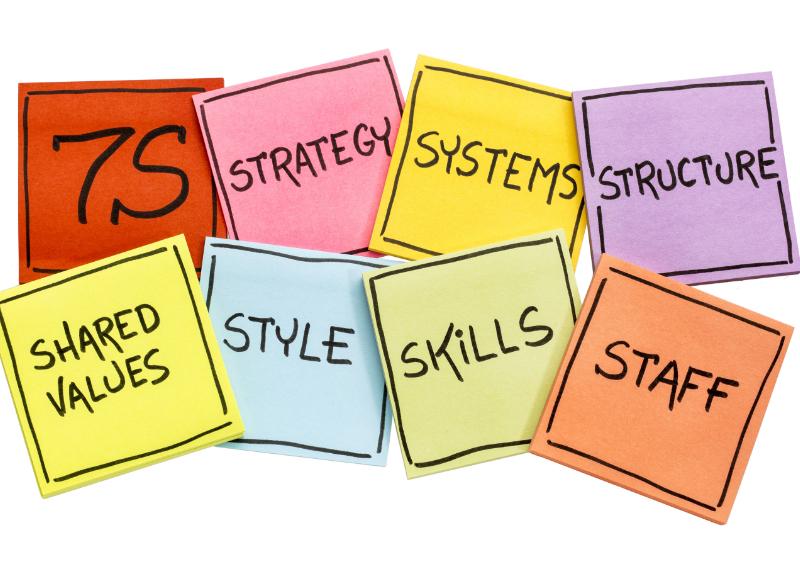 7Sで考える強い組織の創り方〜なぜ組織は良い仕組みを作ってもうまくいかないのか?